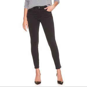 Banana Republic Black Skinny Ankle Jeans